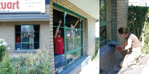 Removal of the Existing Window Part 1